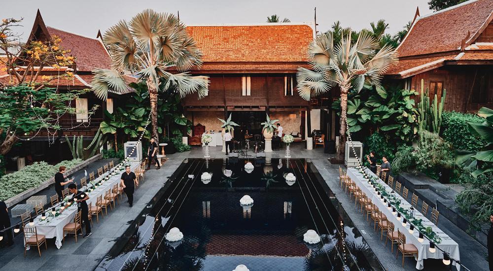บ้านเรือนไทยแต่งงาน